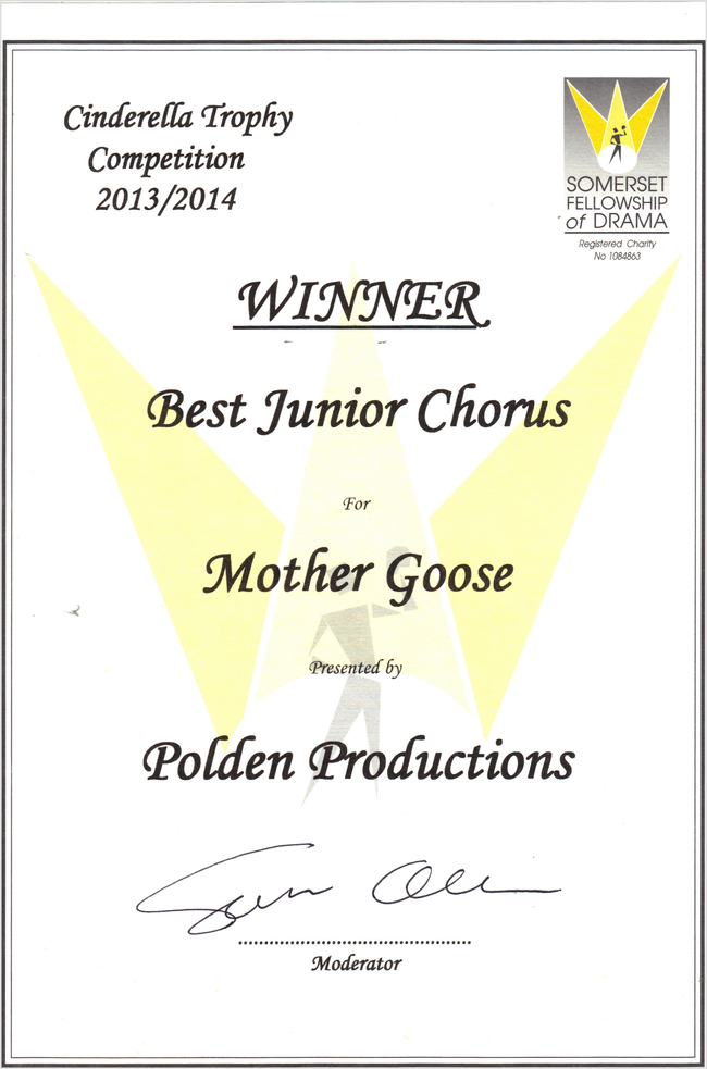 SFD Winner- Best Junior Chorus