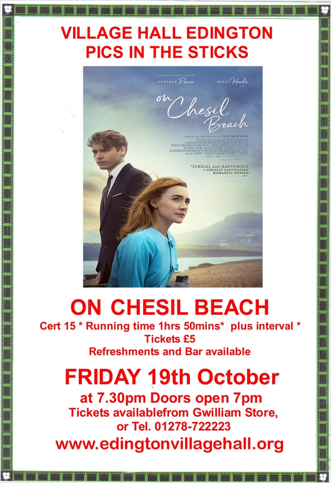 Film Night - On Chesil Beach
